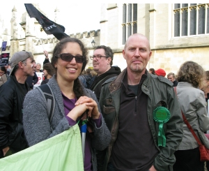 2014 - October Badger March - Ian and Ruthi
