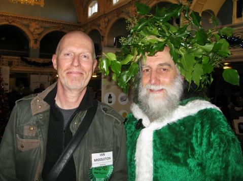 Green Santa - Green Fair 2014